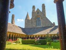 Abtei von Mont St Michel Lizenzfreies Stockbild