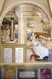 Abtei von Monte Oliveto Maggiore Stockbilder