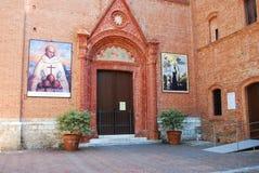 Abtei von Monte Oliveto Maggiore, Toskana Lizenzfreie Stockfotografie