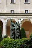 Abtei von Montecassino Lizenzfreies Stockfoto