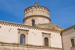 Abtei von Montescaglioso. Basilikata. Stockfotos