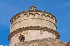 Abtei von Montescaglioso. Basilikata. Stockbild
