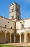 Abtei von Montescaglioso. Basilikata. Lizenzfreies Stockbild