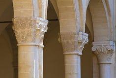 Abtei von Montescaglioso. Basilikata. Stockfoto