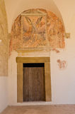 Abtei von Montescaglioso. Basilikata. Stockbilder