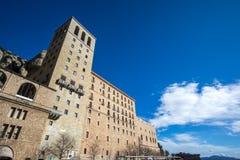 Abtei von Montserrat Lizenzfreie Stockfotos