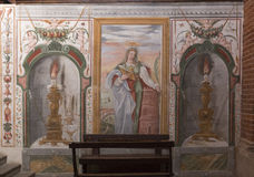 Abtei von Morimondo Stockfotos