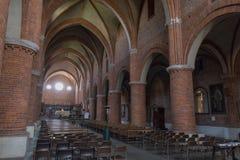 Abtei von Morimondo Lizenzfreie Stockfotos