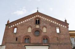 Abtei von Morimondo Lizenzfreies Stockfoto