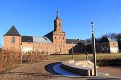 Abtei von Moyenmoutier, Vosges Stockfotos
