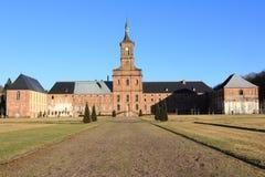 Abtei von Moyenmoutier, Vosges Stockfoto