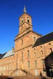 Abtei von Moyenmoutier, Vosges Stockbilder