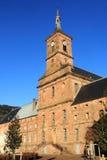 Abtei von Moyenmoutier, Vosges Stockbild