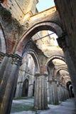 Abtei von San Galagano Stockfotografie