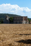 Abtei von San Galgano Lizenzfreie Stockfotos