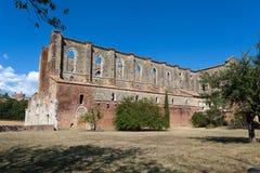 Abtei von San Galgano Lizenzfreie Stockbilder