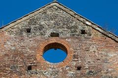 Abtei von San Galgano Lizenzfreies Stockfoto