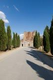 Abtei von San Galgano Stockfotos