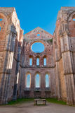 Abtei von San Galgano, Toskana Lizenzfreie Stockfotografie