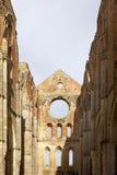 Abtei von San Galgano, Toskana, Italien Stockbilder