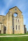 Abtei von San Galgano, Toskana, Italien Lizenzfreie Stockfotografie