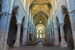 Abtei von San Martino al Cimino. Lazio. Italien. Stockbilder