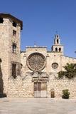 Abtei von Sant Cugat Lizenzfreie Stockfotos