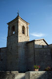 Abtei von Santa Croce in Sassovivo Foligno, Italien Stockfotografie
