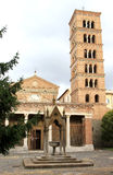 Abtei von Santa Maria di Grottaferrata, Italien Stockbild