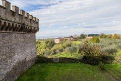 Abtei von Santa Maria in Grottaferrata, Italien Stockfoto