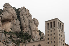 Abtei von Santa Mariade Montserrat Stockbilder
