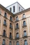Abtei von Santa Mariade Montserrat Stockbild