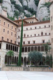 Abtei von Santa Mariade Montserrat Stockfotografie