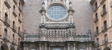 Abtei von Santa Mariade Montserrat Stockfotos