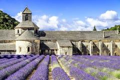 Abtei von Senanque Stockfotos