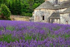 Abtei von Senanque Stockbild