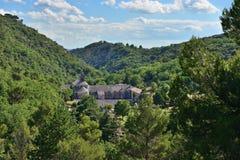 Abtei von Senanque, Frankreich Lizenzfreies Stockbild