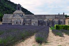 Abtei von Senanque in Provence, Frankreich Lizenzfreies Stockfoto