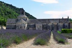 Abtei von Senanque in Provence, Frankreich Lizenzfreies Stockbild