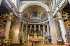 Abtei von St- Germainen Laye, Frankreich lizenzfreie stockfotografie