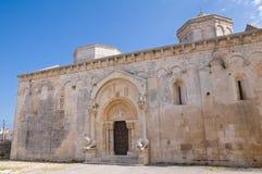 Abtei von St.-LEONARDO. Manfredonia. Puglia. Italien. Stockbild