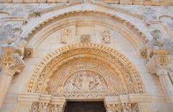 Abtei von St.-LEONARDO. Manfredonia. Puglia. Italien. Stockbilder