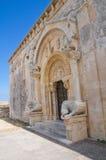 Abtei von St.-LEONARDO. Manfredonia. Puglia. Italien. Lizenzfreies Stockfoto