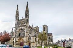 Abtei von St Martin, Laon, Frankreich Stockfotografie