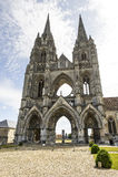 Abtei von Str.-Jean-DES Vignes in Soissons Stockbild