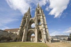 Abtei von Str.-Jean-DES Vignes in Soissons Lizenzfreies Stockfoto