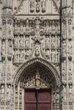Abtei von Str. Riquier - der Somme - das Frankreich Stockfotos