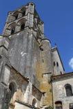 Abtei von Vézelay Stockfotografie