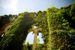 Abtei von Villers-La Ville, Kirchenruine Lizenzfreie Stockfotos