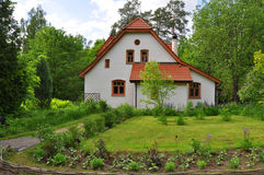 Abtei (Werkstatt) in Polenovs Erinnerungszustand in Tula-Region, Russland Stockbild
